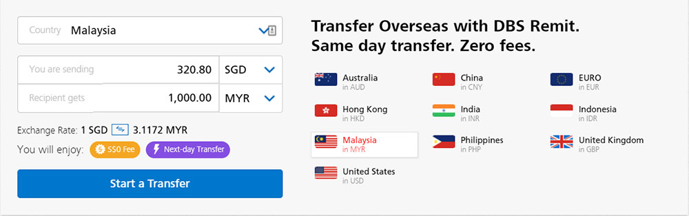 Money Back From Singapore To Malaysia